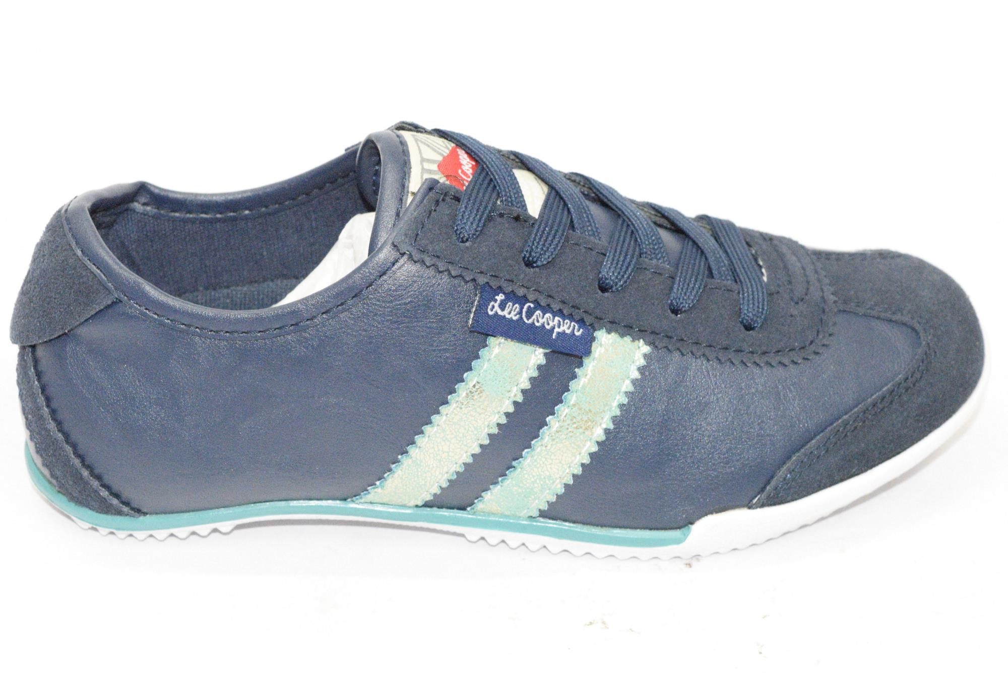 Lee Cooper NAVY W.SPORTS SHOES