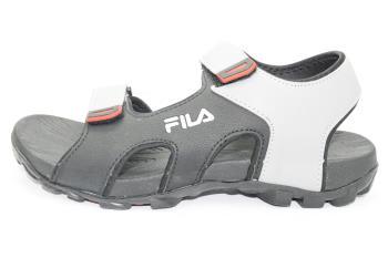 7b3d448cd02 Fila BLK/GREY/RED SANDAL :: Online Shopping @ PARMAR BOOT HOUSE | Buy  Footwear For Men, Women & Kids